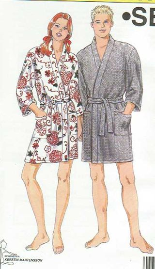 Kwik Sew Robe