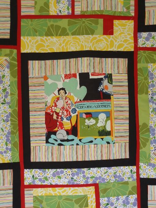 Detail matisse quilt