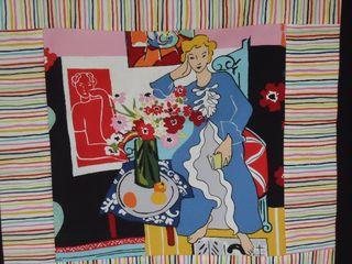 Matisse Blue lady