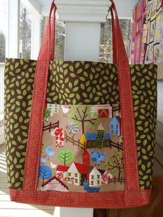 Farm yard tote bag
