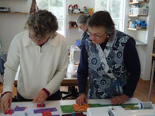 Improv Sewing Club,Jude and Linda