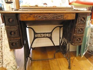 Vintage Treadle Table