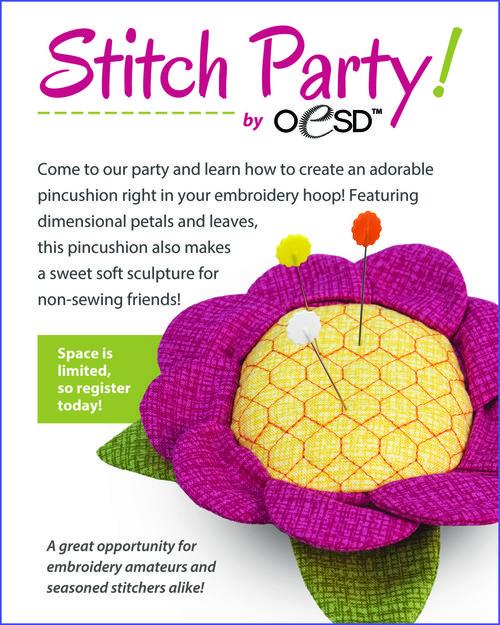 Stitch party