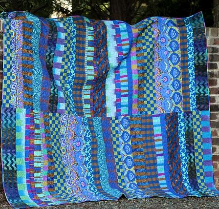 Blue Kaffe Quilt