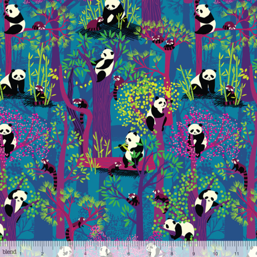 Panda forest1